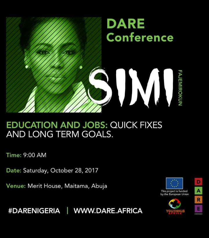 Limited tickets to DARE #conference visit  http:// dare.africa  &nbsp;   to grab your tickets ASAP #DARENigeria<br>http://pic.twitter.com/nD0trM6RR3