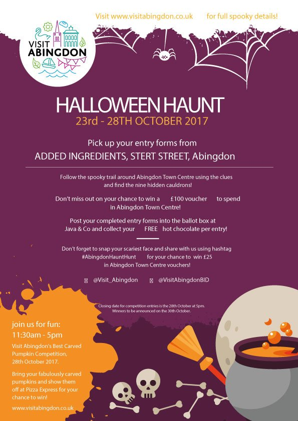 Oxford Bus Company On Twitter Halloween Haunt 23rd 28th