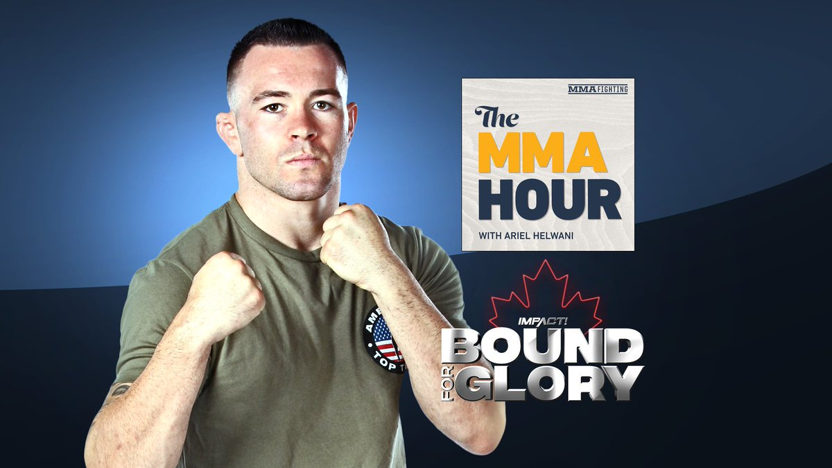 Today at 3:45p EST don't miss @ColbyCovMMA from @AmericanTopTeam on @MMAFighting with @arielhelwani #TheMMAHour talking @ufc fight against @demianmaia and @TheMooseNation, @StephanBonnar @fightbobby @KingMoFH &amp; of course #BFG2017 <br>http://pic.twitter.com/LcgGLZCiW9