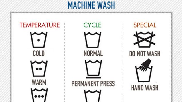 Having trouble deciphering the #symbols on your #clothing tags? Here is a chart showing what they all mean.  http:// bit.ly/2cuoQ8q  &nbsp;  <br>http://pic.twitter.com/S4clAdAzzX