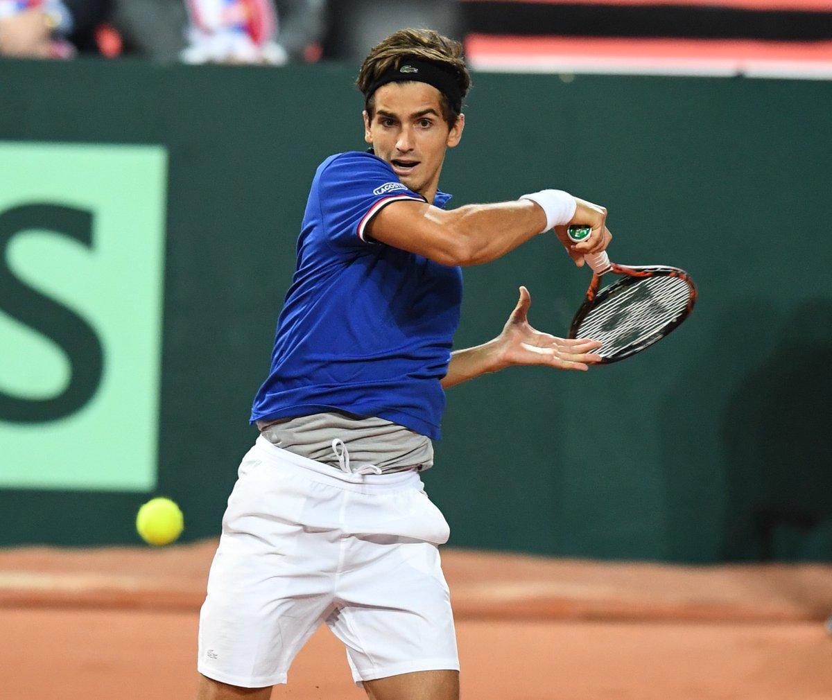 test Twitter Media - #Tennis 🎾  Qualification pour les 8es de P.-H. #Herbert 🇫🇷 au tournoi de #Vienne, qui a battu B. #Tomic en 2 sets 7/6 (4) 7/5. https://t.co/fI8PIeFPeW