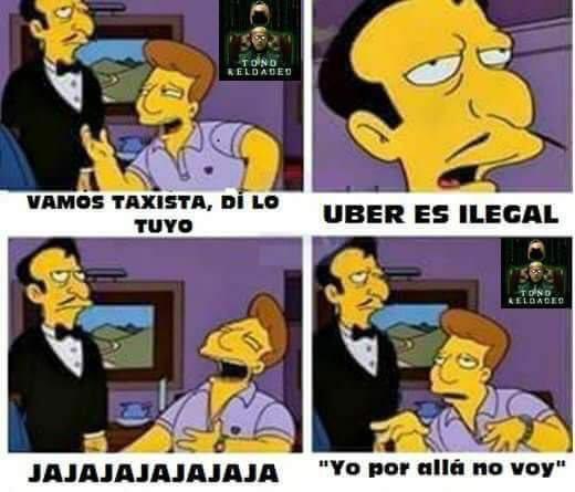 Los memes más divertidos que acompañan el 🚧 #ParoDeTaxistas https://t....
