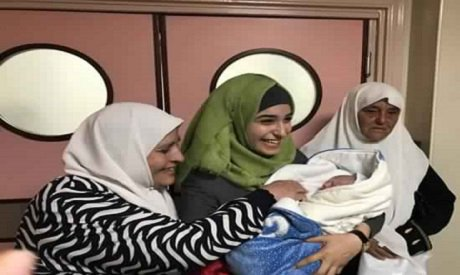Wife of #Palestinian prisoner gives birth using husband's #sperm smuggled out of #Israeli jail https://t.co/GuHWvODvOP