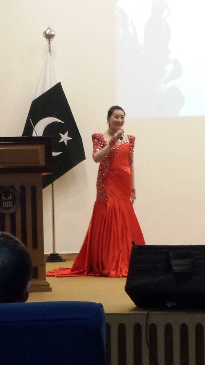 Wonderful performance by the South-Central University of Nationalities Troupe  #NUML university #islamabad #confucius #中巴友谊万岁<br>http://pic.twitter.com/jRQ363XBSM