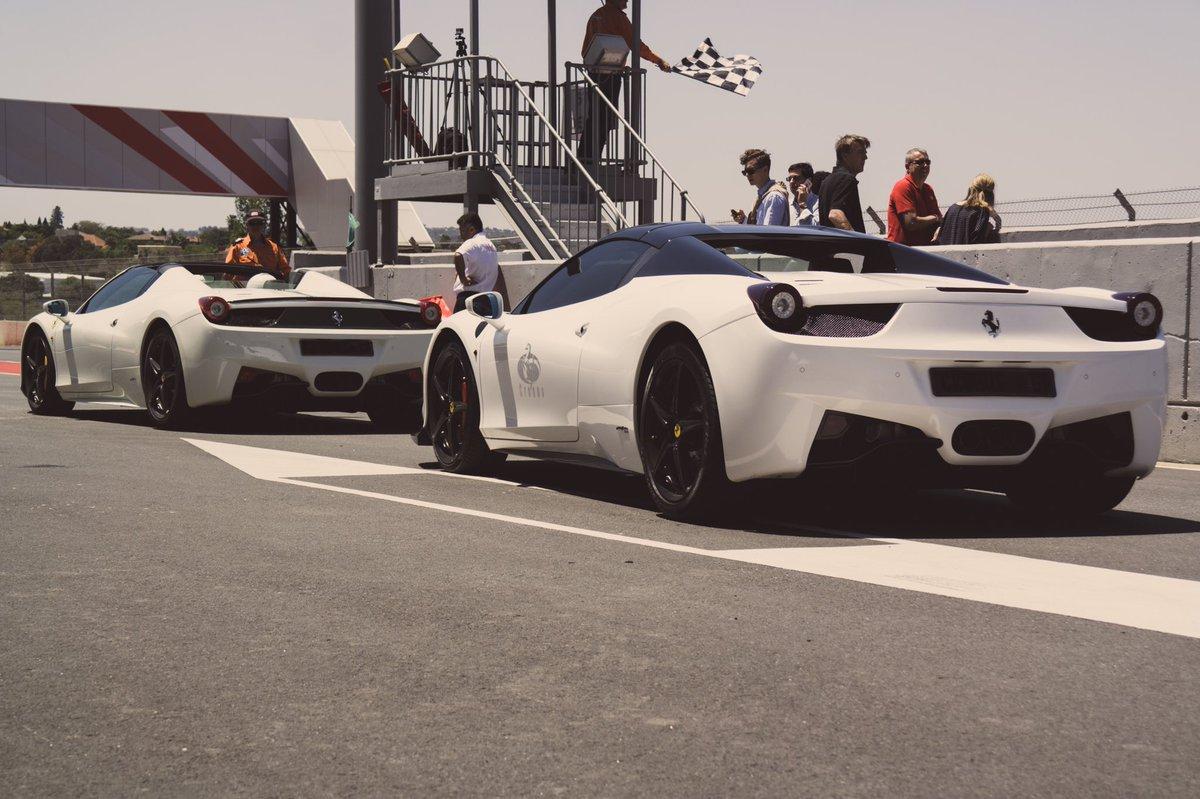 Twinning at @FerrariZA 70th Anniversary Celebration  #Ferrari <br>http://pic.twitter.com/42VBXH2OaF