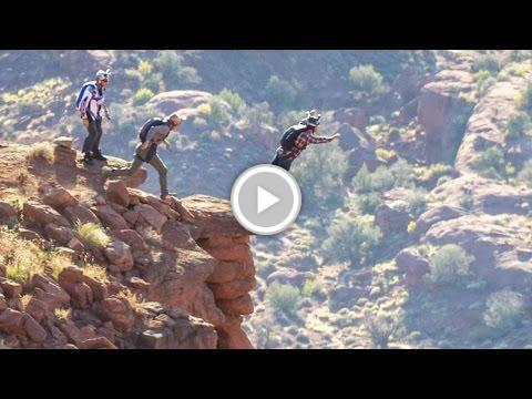 BASE Jumping the Fisher Towers in Moab https://t.co/HlyBbCw7e6 #FireFa...