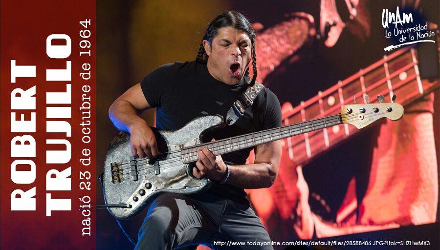 #UnDíaComoHoy en 1964 nació @RobertTrujillo, bajista de la banda estad...