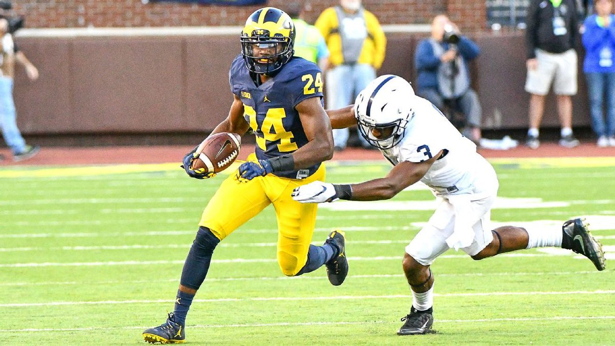 Michigan CB sorry for flipping off Penn St. fans https://t.co/BzLP8ovD...
