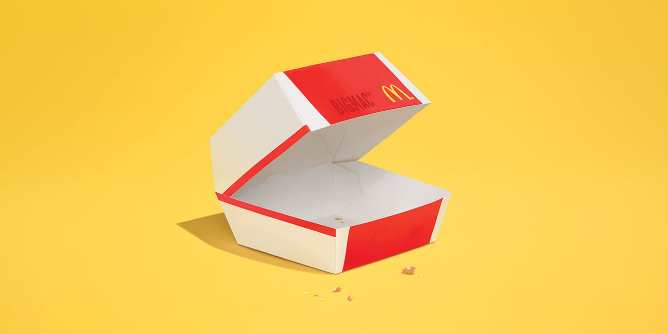 RT @Adweek: The food almost completely disappears in these minimalist @McDonalds ads: https://t.co/wub97Fdr5Y https://t.co/iwdEKu8kTh