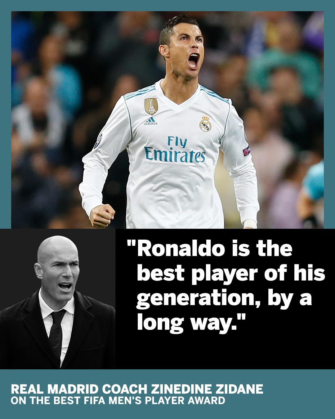 ⚪️ Messi  ⚪️ Neymar �� Ronaldo  Zidane knows his pick. https://t.co/6t2hb89gLW