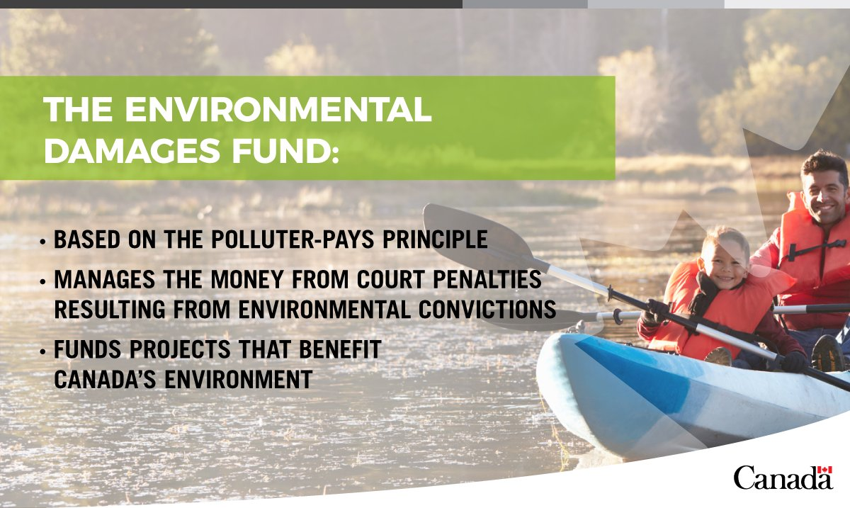 The funding deadline for the #Enviro Damages Fund is fast approaching. Check to see if your project qualifies!  http:// ow.ly/Dci530g4oPA  &nbsp;  <br>http://pic.twitter.com/4XbzGB4TPW