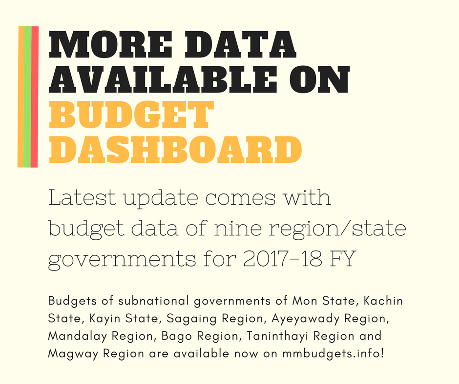 If you haven&#39;t caught up yet, please check  http:// mmbudgets.info  &nbsp;  ! #opendata #openbudget #myanmar<br>http://pic.twitter.com/nYNrMbyviv