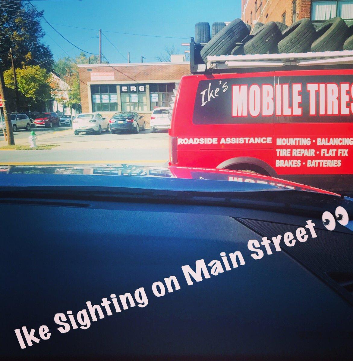 Find Ike    #ikesmobiletires #convenience #tepsbestmedia #ike #waldo #sighting #mikeandike #cars #truck #fleet #mechanic #emergency #service #sos #main #street #poconos #stroudsburg #eaststroudsburg #pennsylvania #roadsideassistance #drive #safe #ontheroad #october #monday<br>http://pic.twitter.com/7pvkTdkggj