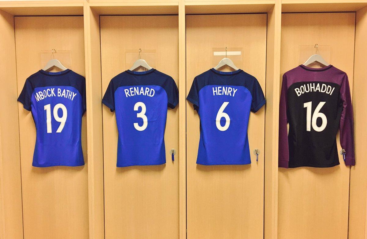Le vestiaire est en place ! France - Ghana dès 21H00 sur @CStar 🇫🇷🇬🇭 #...