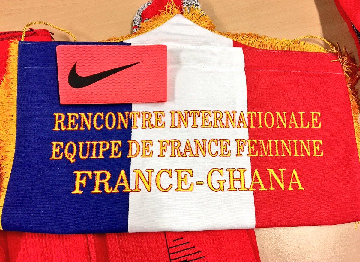 Arrivée des joueuses à 19H15 à Auguste Delaune ! France - Ghana dès 21...