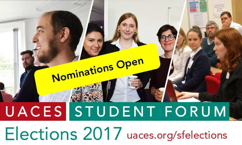 As UACES turns 50, it&#39;s a v exciting time to join the @UACES_SF committee &amp; shape the future of #EuropeanStudies!  http://www. uaces.org/sf/elections.p hp &nbsp; … <br>http://pic.twitter.com/O4r5mPIBlE