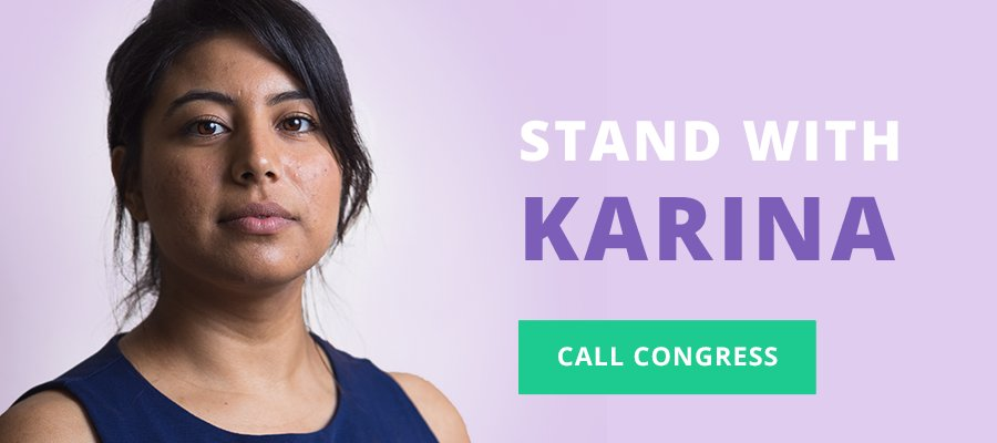 Karina works in biotech. Ending DACA will remove her from our workforce. Take action &  lik#protectDreamerse Karina: https://t.co/xR58vJp3xs