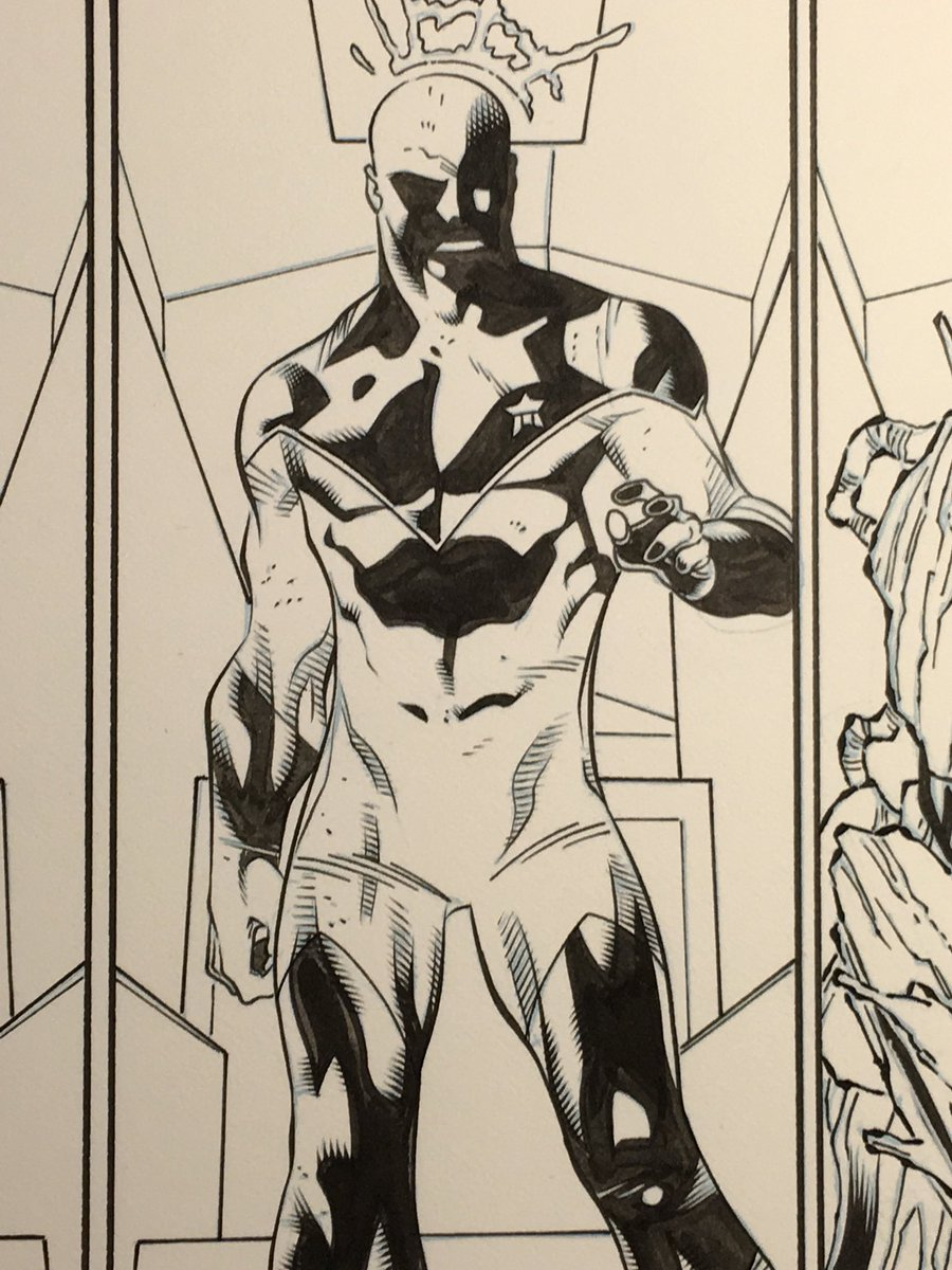 #vanceastro from an issue of #guardiansofinfinity #guardiansofthegalaxy my #inks over @carlobarberi #pencils. #marvel #marvelcomics<br>http://pic.twitter.com/6bi09jyOf5