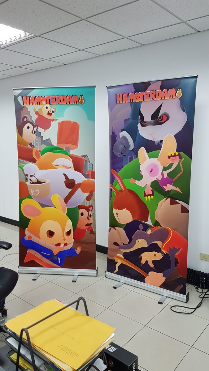 #Hamsterdam is going to #WePlay Shanghai! #brawler #beatemup #fighter #martialarts #indiedev #gamedev #unity #madewithunity #indiegame #cute<br>http://pic.twitter.com/VhWYyeTHsS