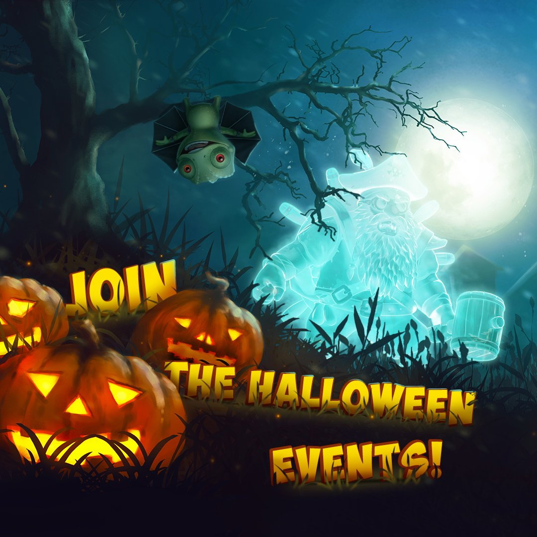 It's time to celebrate Halloween 👻  with #GameInsight titles! ➡ https://t.co/6hbUOVmBE6 🎃 https://t.co/chWxKmPg2l