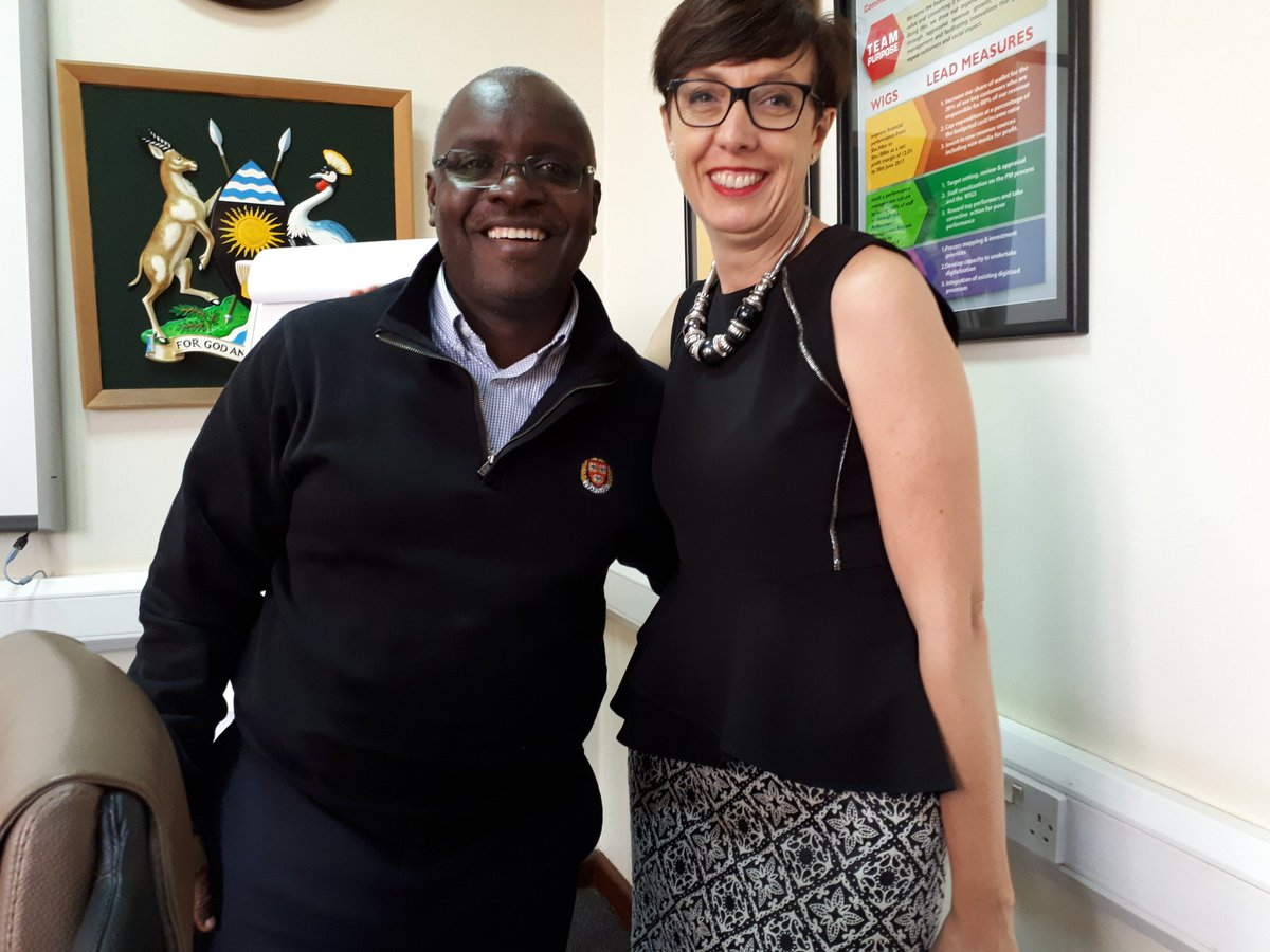 #French Ambassador @srivoal with @VisionGrp #CEO @rkabushenga at @newvisionwire HQ.<br>http://pic.twitter.com/p2rzdj40xi
