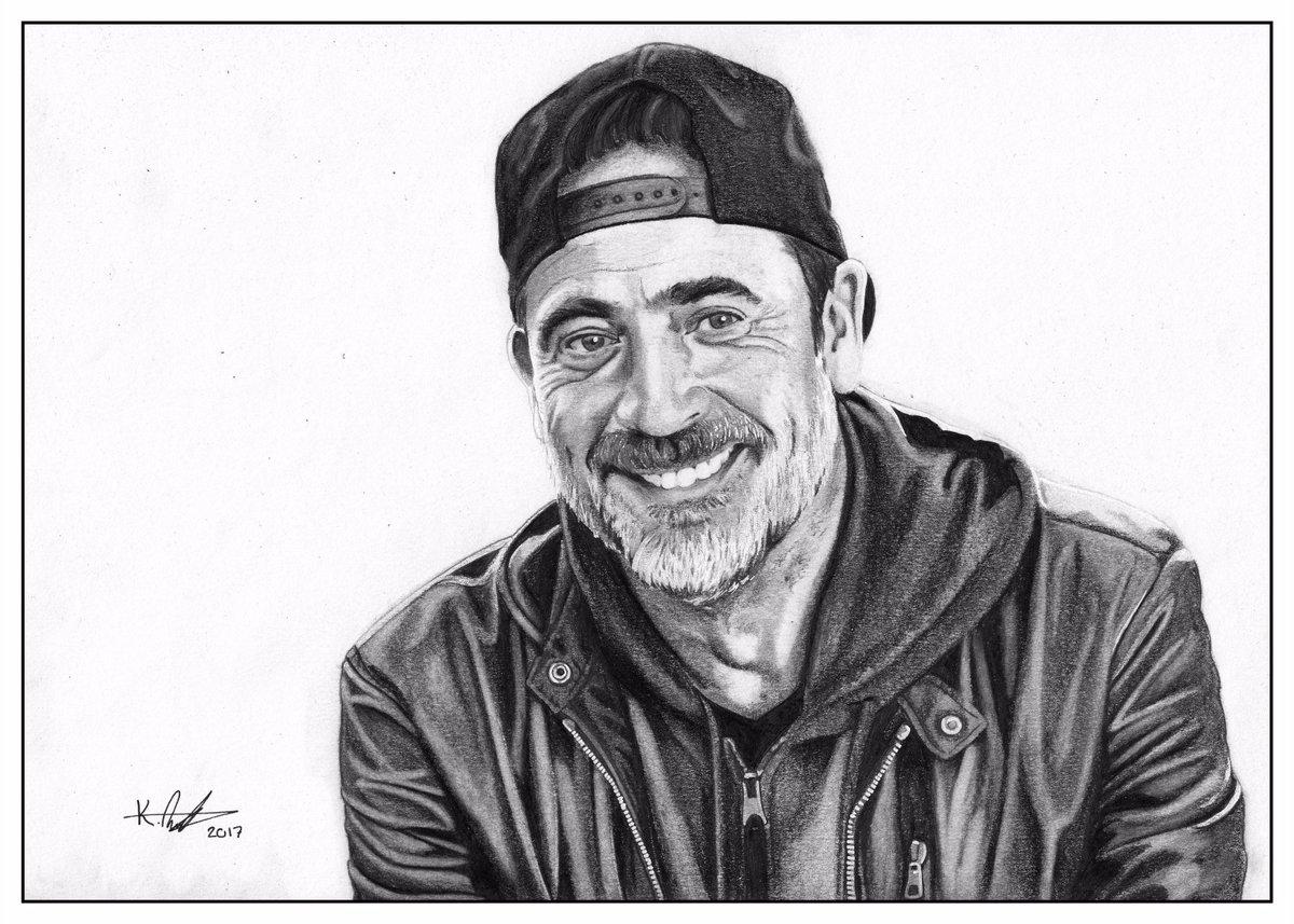 Guess who just got done drawing @JDMorgan? #TheWalkingDead  #TWD100  #JeffreyDeanMorgan #JDM #FanArt #TWD  #TeamNegan #Artist #TheWalkingDeadUK<br>http://pic.twitter.com/CXTlmJ6sSF