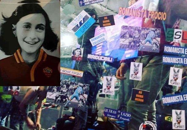 #AnnaFrank con la maglia della Roma, vergogna razzista degli ultrà del...