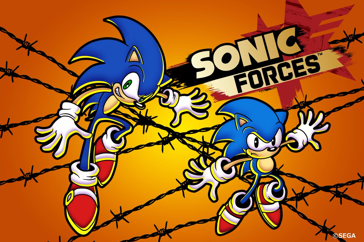 sonic the hedgehog on twitter special sonic forces art by
