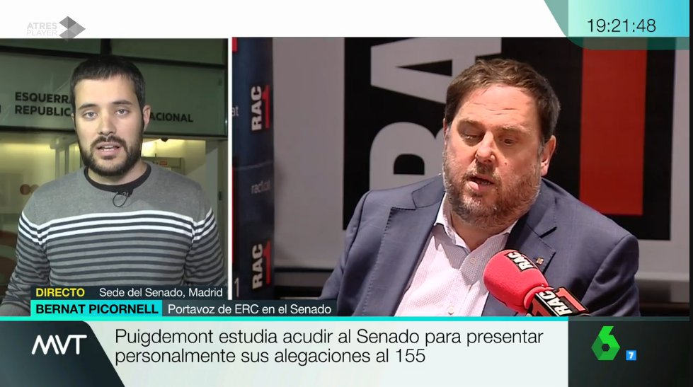 .@bernatpicornell 'El gobierno español no ha hecho nada en pro del diá...