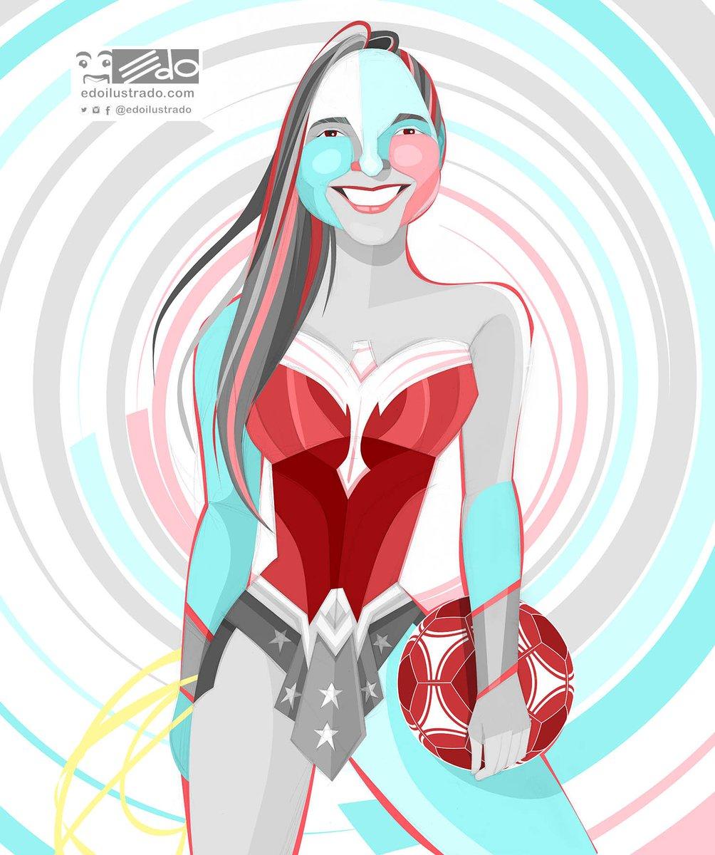 Deyna Castellanos Nuestra #WonderWoman, presente hoy entre las mejores...