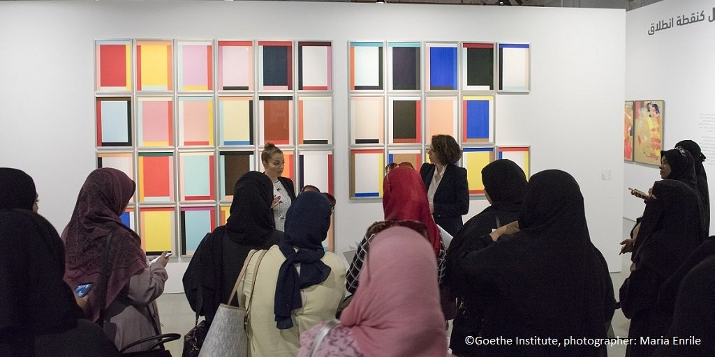 We've partnered with Qatar Museums and @GI_worldwide to promote creativity and improve access to art for schools: https://t.co/sLbDkpTy9j