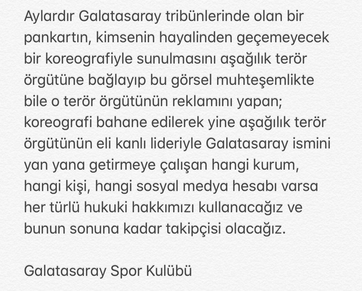 #GalatasarayKenetleniyor https://t.co/imFnS0gi9r