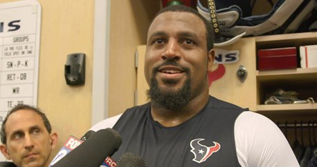 'I'm just ready to get back on the field.'  Watch as Duane Brown spoke to the media earlier today.  🎥: https://t.co/MytQ1u50uD
