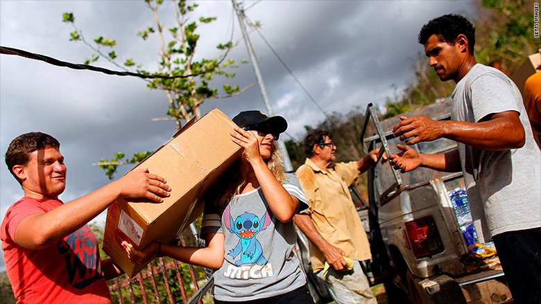 Grassroots operations have sprung up to help get aid and supplies to Puerto Rico after Hurricane Maria's devastation https://t.co/w5a0QXKZTg