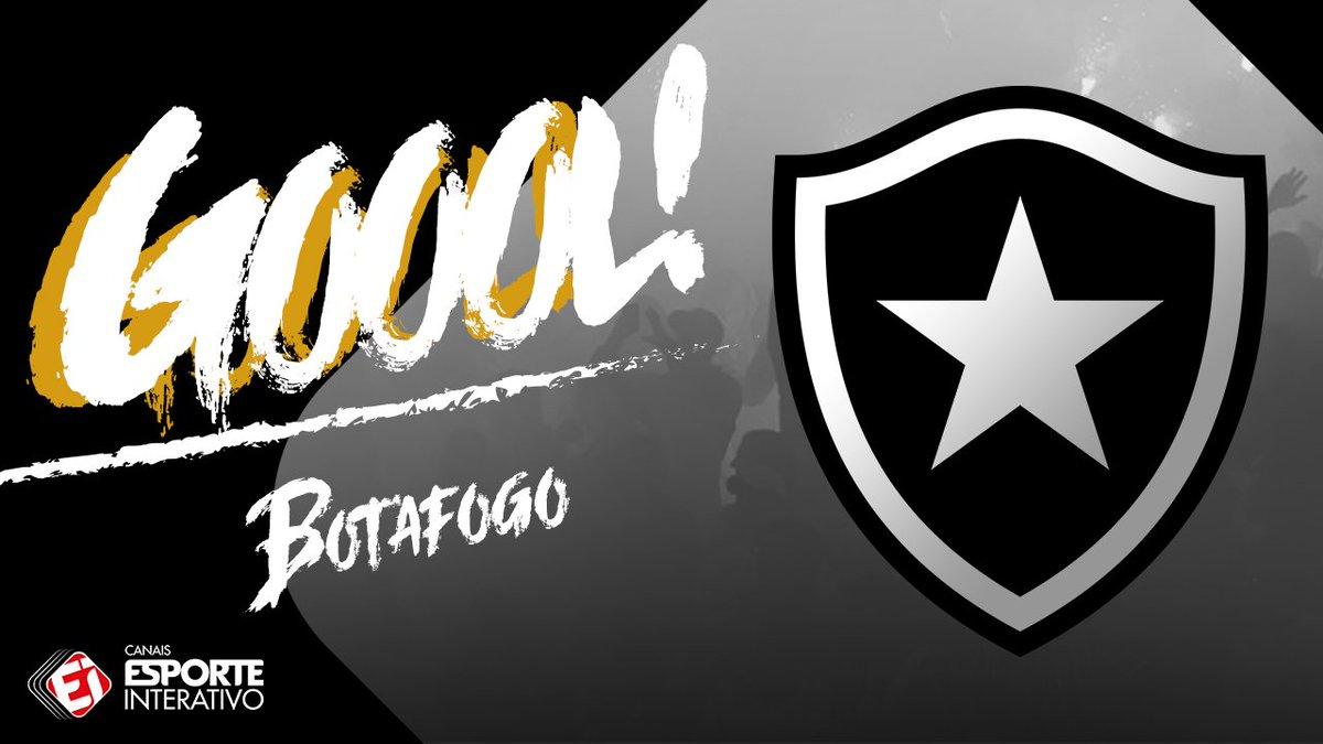 GOOOOOOOOOL! É do @BotafogoOficial! Bren...