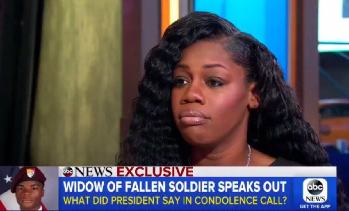 I  believe Myeshia Johnson! I  believe Myeshia Johnson! I  believe Myeshia Johnson!  #GoldStarFamily  RIP Sgt. La David Johnson  #Respect <br>http://pic.twitter.com/lPoz77pbfK