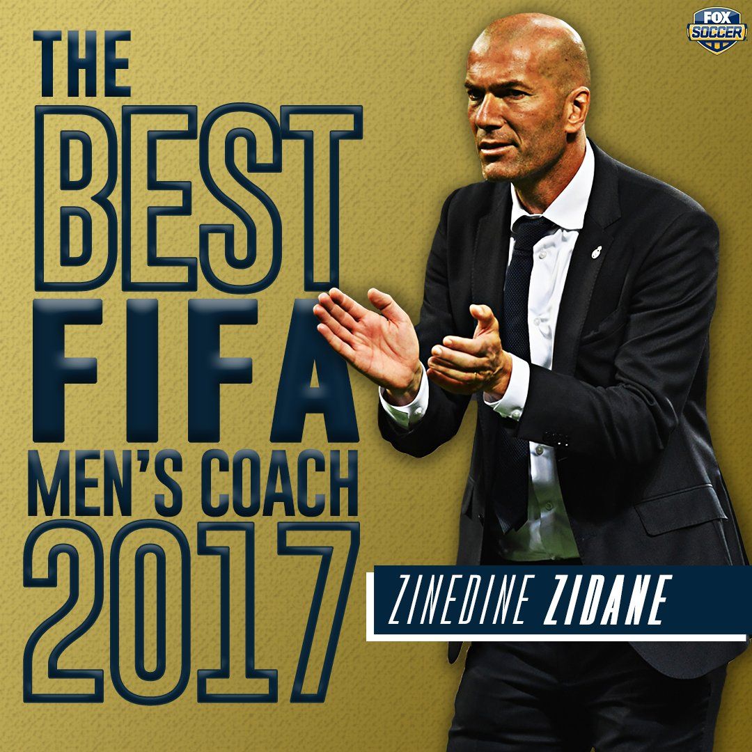 Was there any doubt? Zinedine Zidane is #TheBest FIFA Men's Coach of 2...