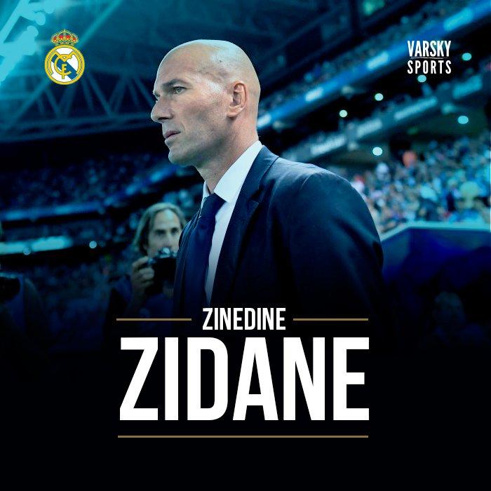 Zinedine Zidane, el mejor entrenador del año. Cerebro para jugar y tam...
