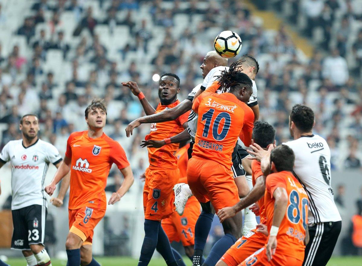 MS Beşiktaş 1 - Başakşehir 1  ⚽️89' Kerim Frei ⚽️90+2' Tosic https://t...