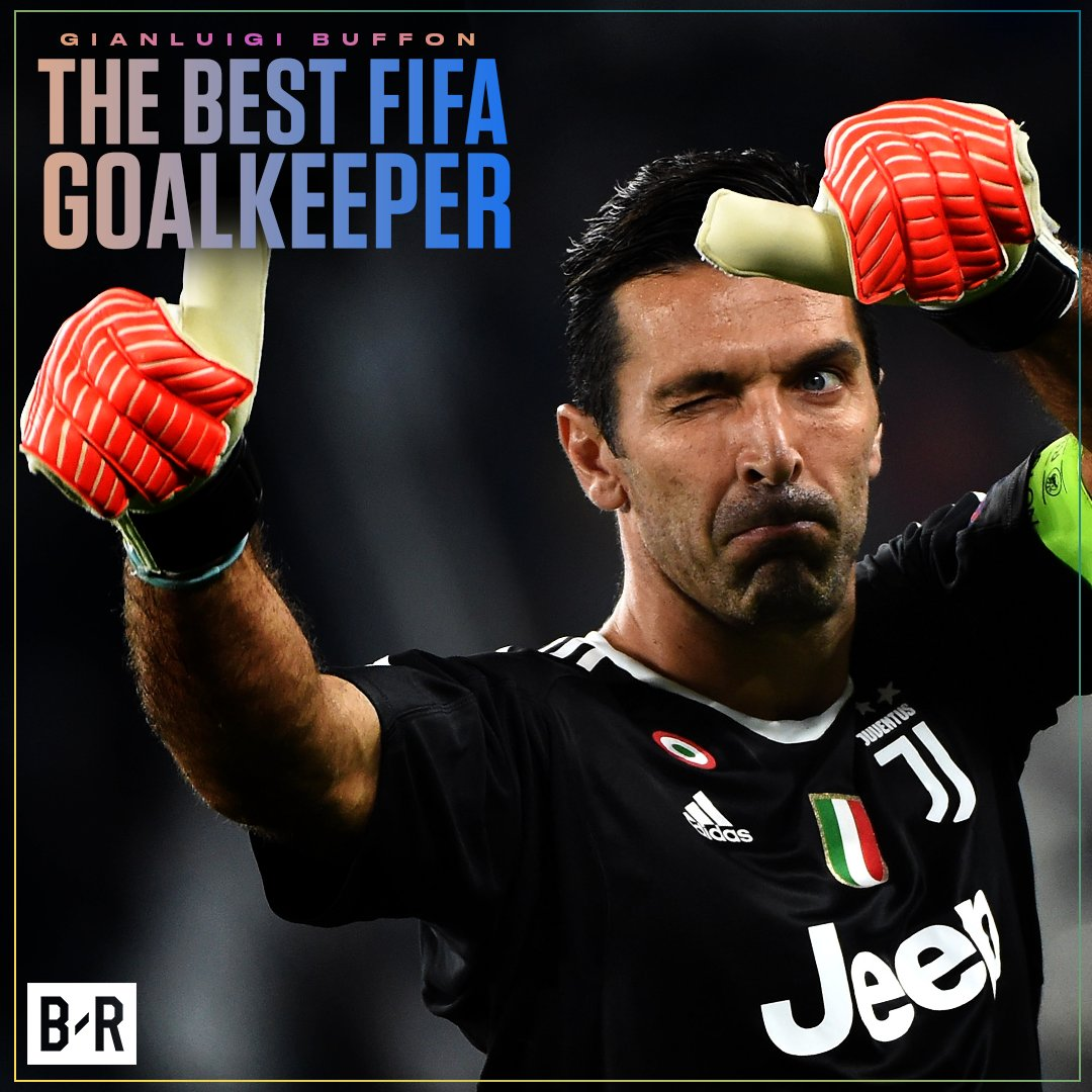 Gianluigi Buffon is named as the Best Goalkeeper at FIFA's #TheBest aw...