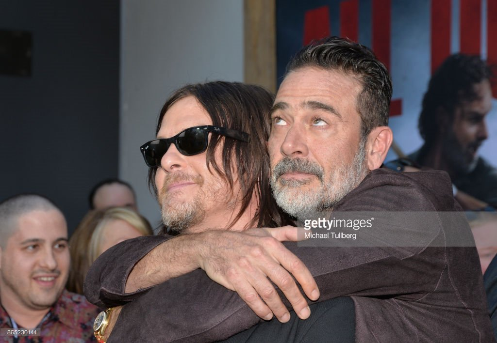 I don&#39;t know, I think a strong argument could be made that #JDM is actually riding in Norman&#39;s backpack. #GettyImages #TWD100Nite  #Mordus<br>http://pic.twitter.com/DL6fCwlJD5