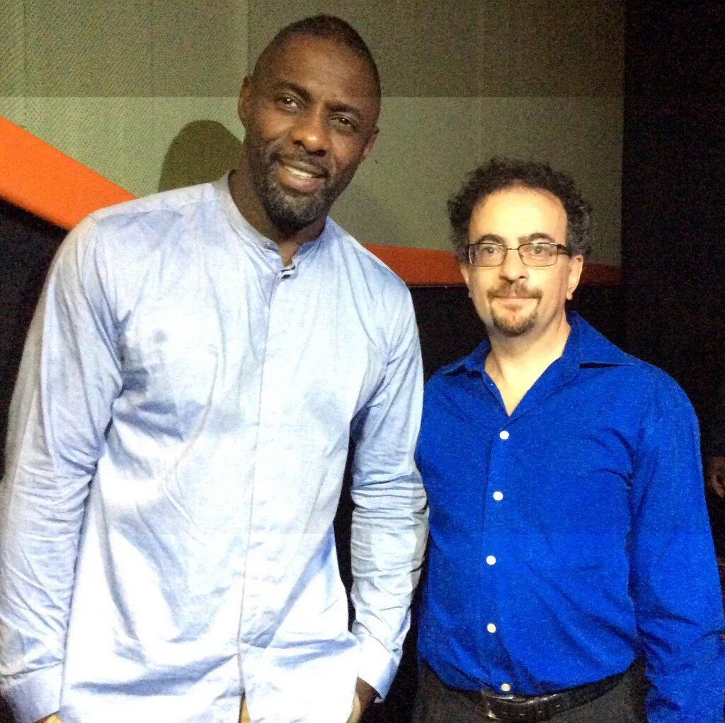 Who was it again who taught Idris Elba to be so cool? Just saying 😀 ht...