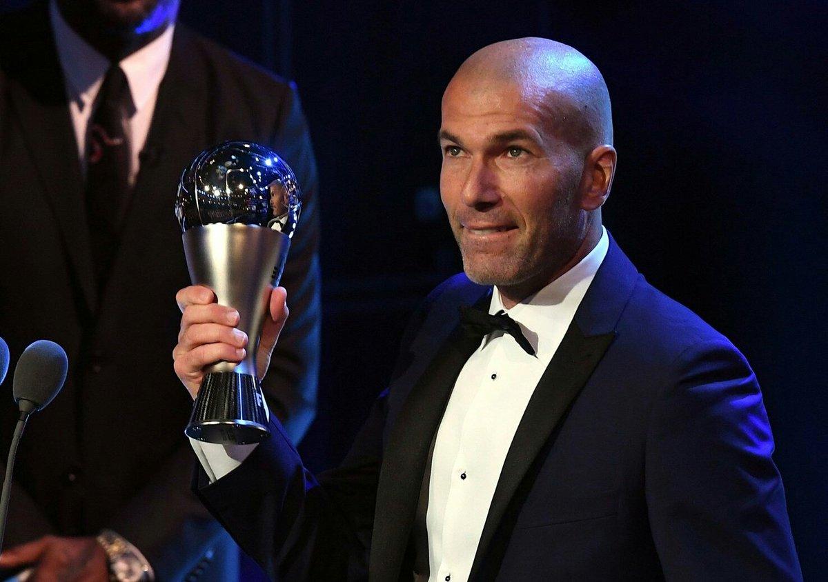 🏆 The Best FIFA entrenador 2017 ▶Zinedin...