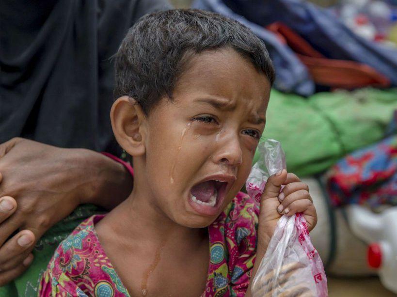 PHOTOS. Rohingyas : 200.000 enfants vivent 'l'enfer sur Terre' https://t.co/Wpd6Lk2nmY
