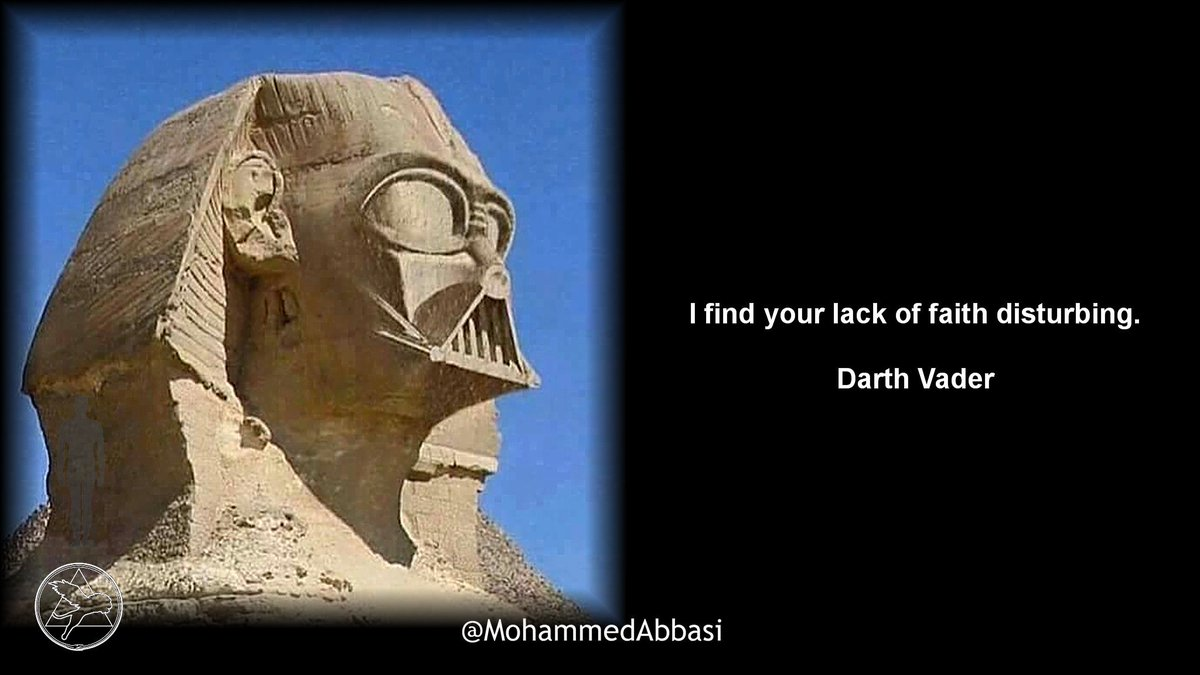 I find your lack of faith disturbing.  #DarthVader #Sith #Jedi #StarWars <br>http://pic.twitter.com/xC2ATMMYRE
