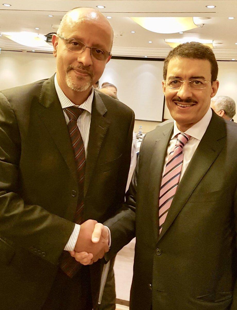 Dr Bandar Hajjar @isdb_group #President with @RobertoValentUN @UNDPPalestinian Rep. during Board of Trustees of #Economic #Empowerment Prog<br>http://pic.twitter.com/HdY4G32K9L