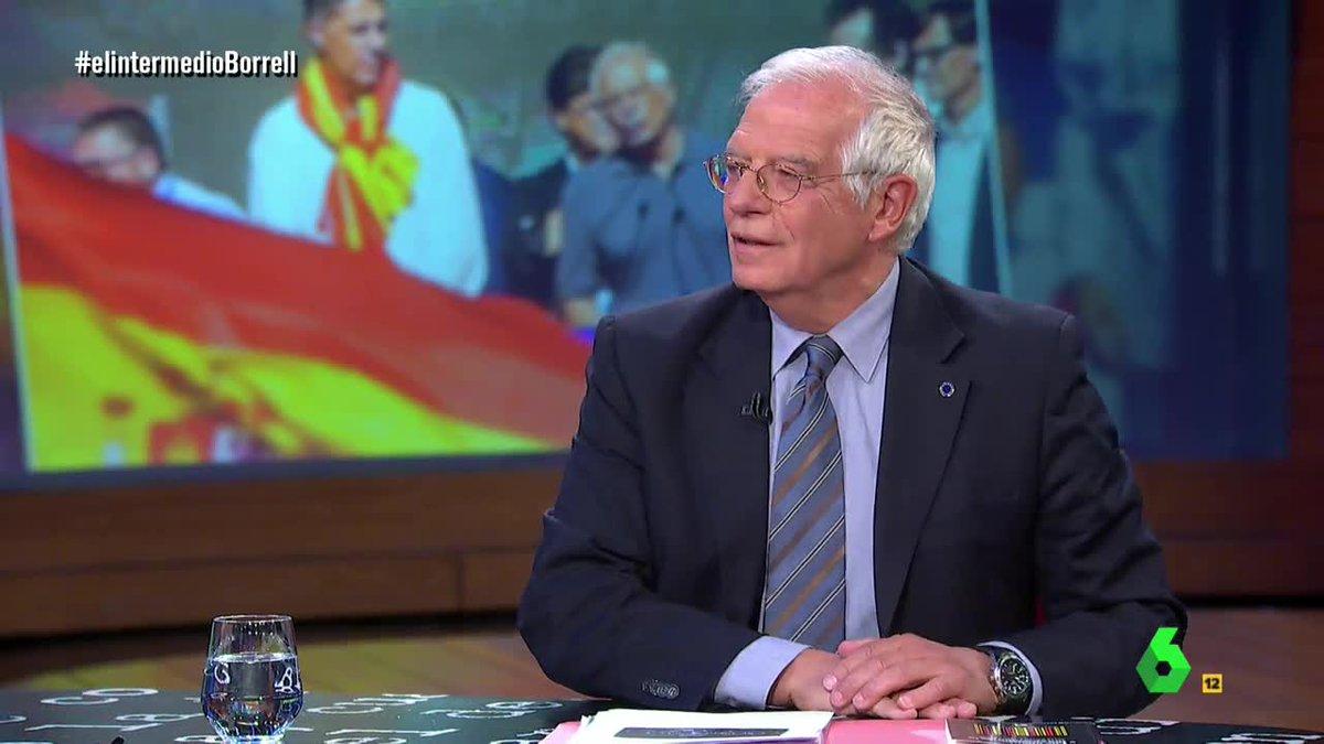 🔴@conjosepborrell: 'Todavía hay tiempo para la paz' #elintermedioBorre...