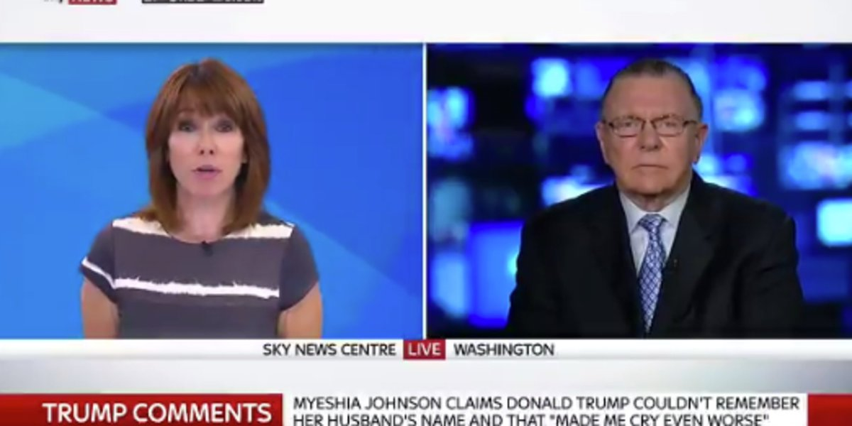 Kay Burley Refused To Let US General Jack Keane Dictate Their Interview Over Trump's Latest Row https://t.co/ctM1iJF56M