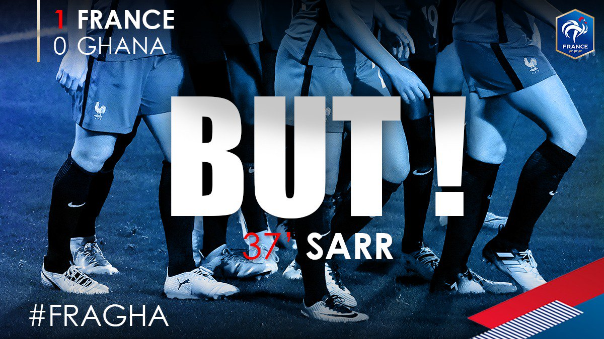 Et 1-0 !!!!! But de Ouleymata Sarr !! #FRAGHA https://t.co/kONBqhCRZv