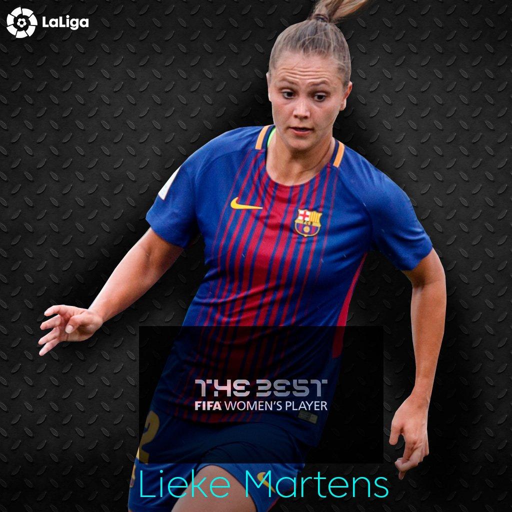 ¡Lieke Martens es nombrada como la Mejor Jugadora de la FIFA! 🏆 #LigaI...